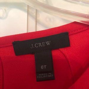 J. Crew Tops - J Crew Crepe Ruffle Sleeve Blouse, 6T